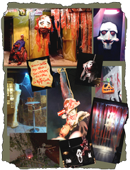 Decoracion DARK terror Halloween