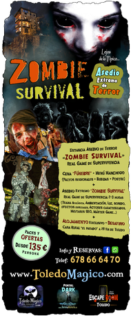Pack Zombie SURVIVAL Toledo