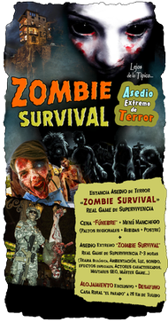 Zombie SURVIVAL casa rural Toledo